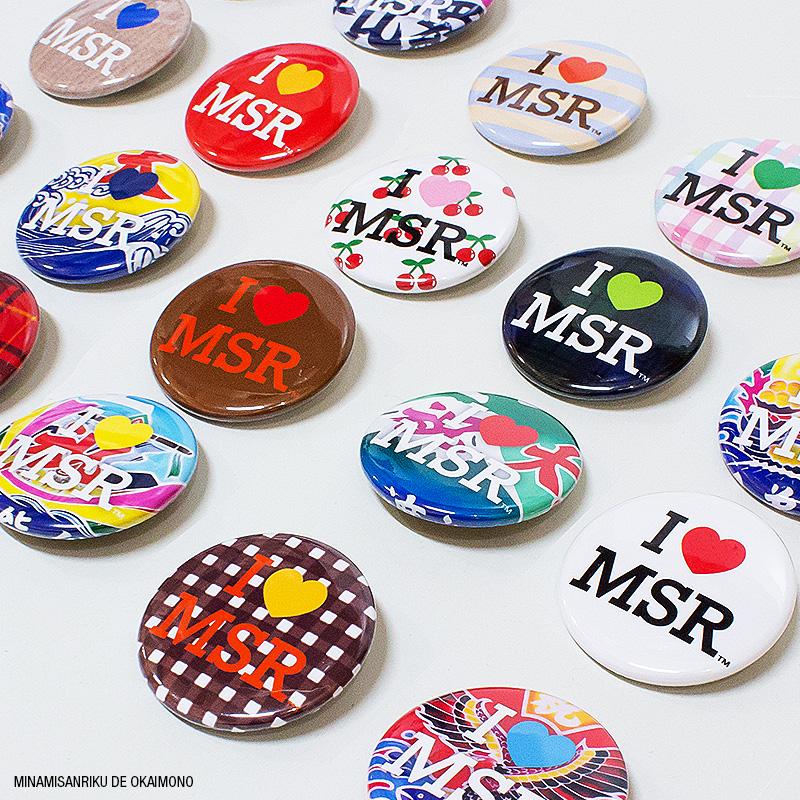 I♥MinamiSanrRiku缶バッジ
