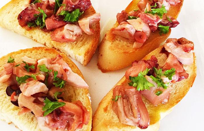 タコのトマトソース煮|魚市場キッチン缶詰シリーズ|防災備蓄食品にも