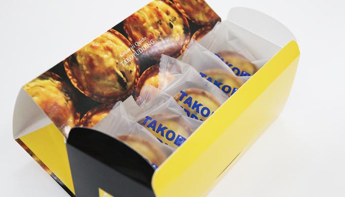タコぷりん(5個入り)志津川ダコと厳選素材を贅沢に使ったキッシュ