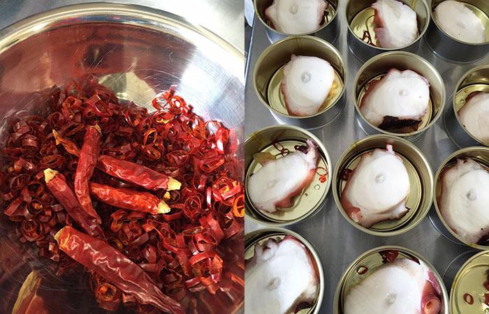 タコのアヒージョ|魚市場キッチン缶詰シリーズ|防災備蓄食品にも