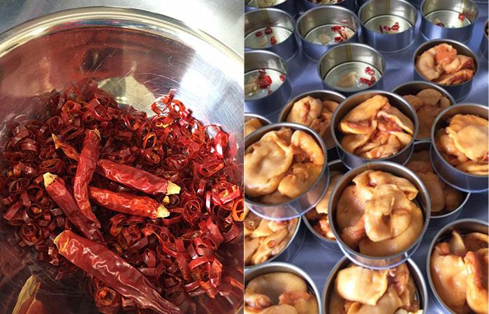 ホヤのアヒージョ|魚市場キッチン缶詰シリーズ|防災備蓄食品にも
