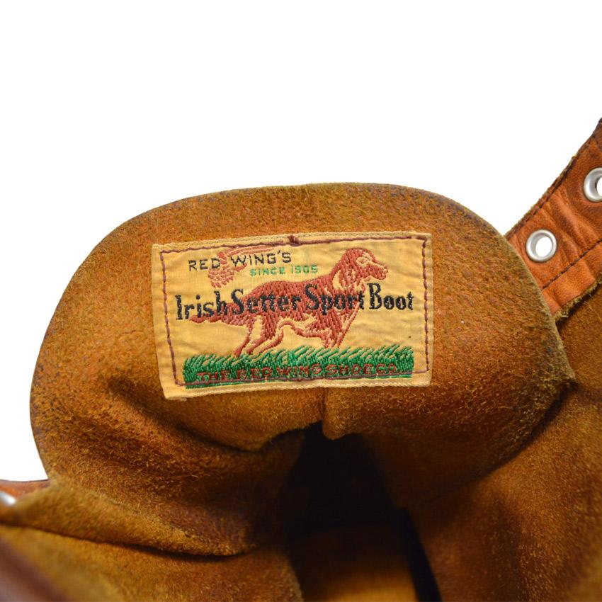 60's REDWING アイリッシュセッター 刺繍犬タグ!!  ...11E