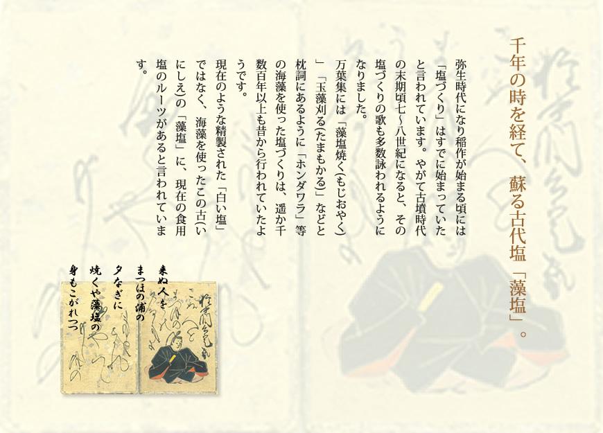 長崎県対馬産 浜御塩 藻塩お試しパック[1g×10包]