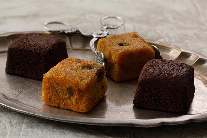 フルーツ&チョコレートケーキ