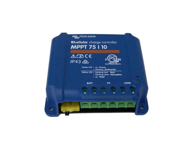MPPT充放電コントローラ BS MPPT75/10 【24V充電設定】