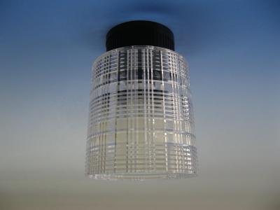 【12V/24V兼用】LED照明 天井直付タイプ(透明) RG-101