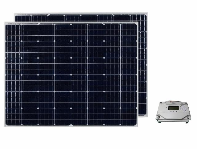 太陽光パネル440W+コントローラセット【PS】/24V充電
