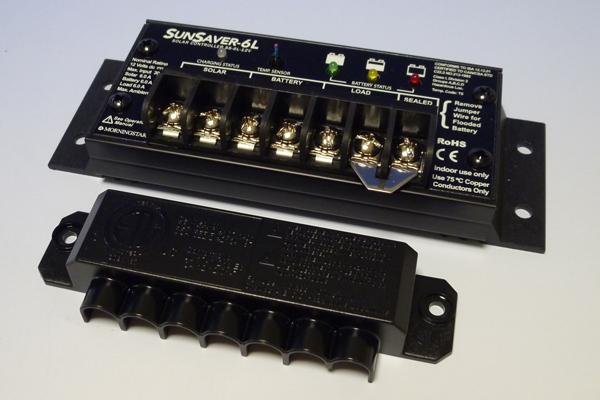 【12V用】充電コントローラ SS-6L-12V