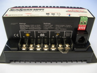 MPPT充電コントローラー SS-MPPT-15L 【12/24V自動判定】