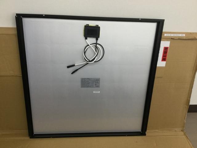 【未使用品】太陽光パネル85W×2枚セット