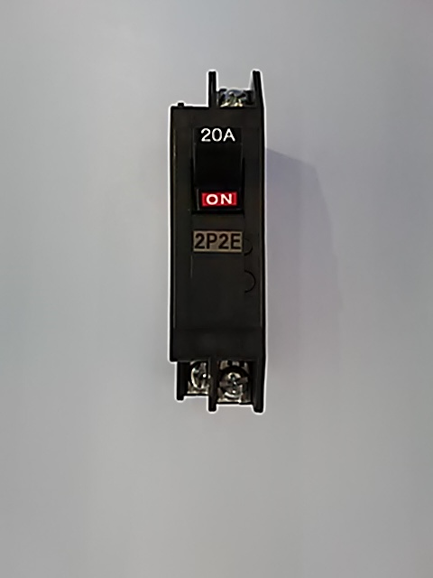 サーキットブレーカー NX52A 20A 2P2E