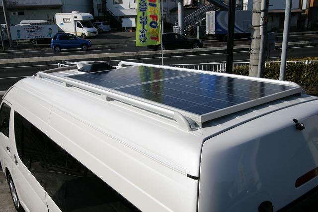 太陽光パネル160W+コントローラセット【PS】_正方形
