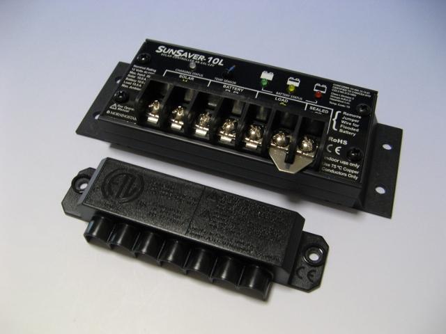太陽光パネル105W+コントローラセット【SS】