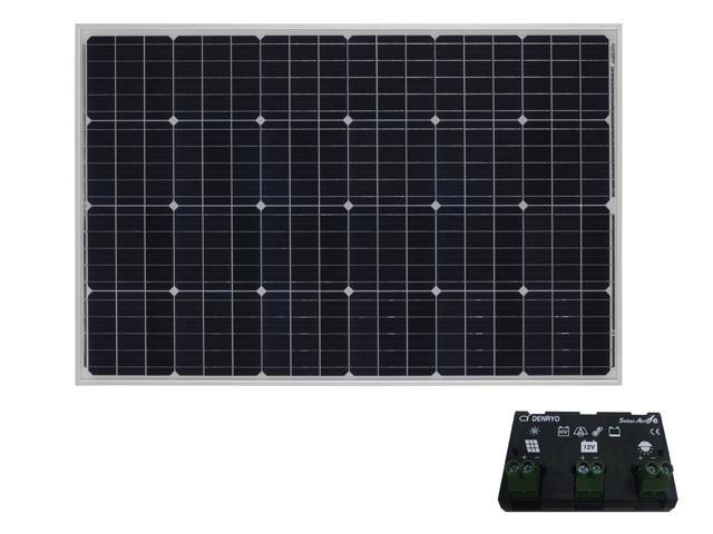 太陽光パネル105W+コントローラセット【SA】