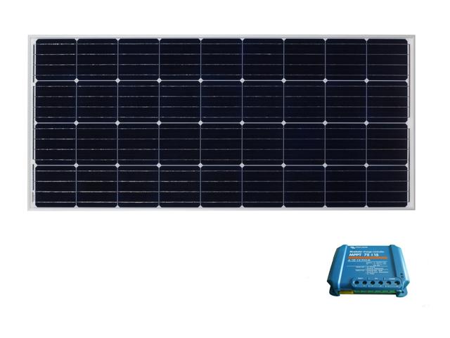 太陽光パネル160W+コントローラセット【BS-MPPT】