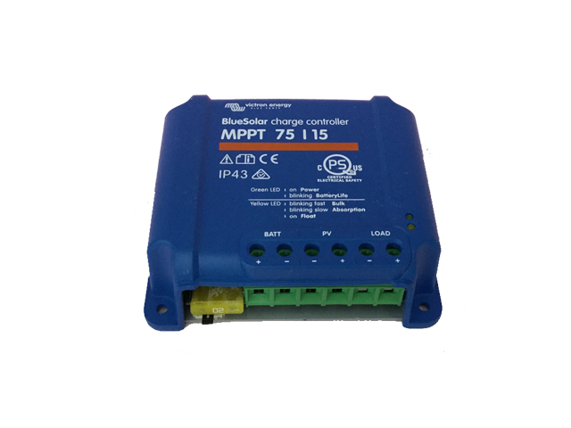MPPT充放電コントローラ BS MPPT75/15 【24V充電設定】