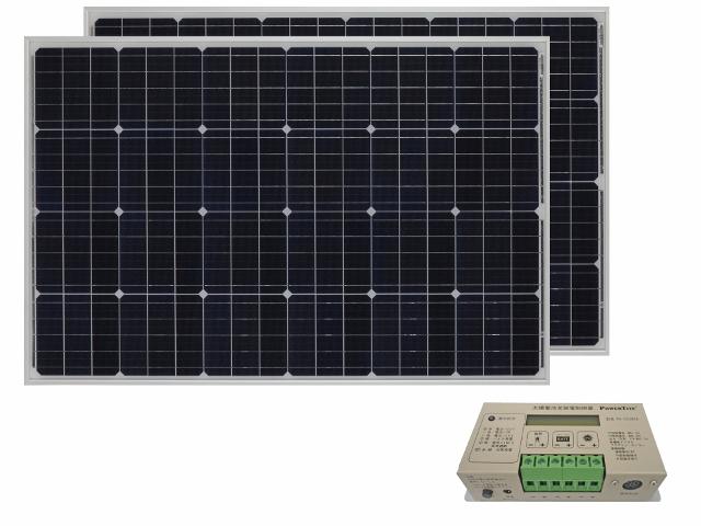 太陽光パネル210W+コントローラセット【PV】