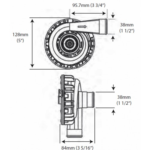 EWP115電動ウォーターポンプキット(12V)