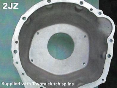 【納期要問合せ、要事前見積】TTi-2JZエンジン5速/6速用シーケンシャルミッションセット