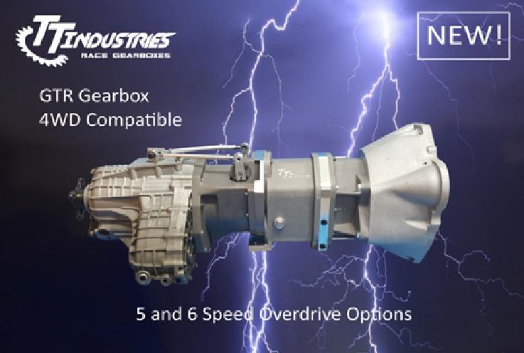 【納期要問合せ、要事前見積】TTi-R32/33 GTRエンジン5速/6速用シーケンシャルミッションセット