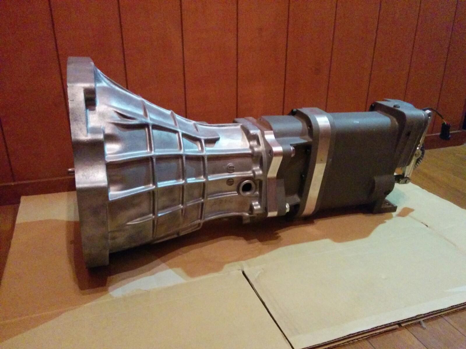 【納期要問合せ、要事前見積】TTi-シルビアSRエンジン5速/6速用シーケンシャルミッションセット