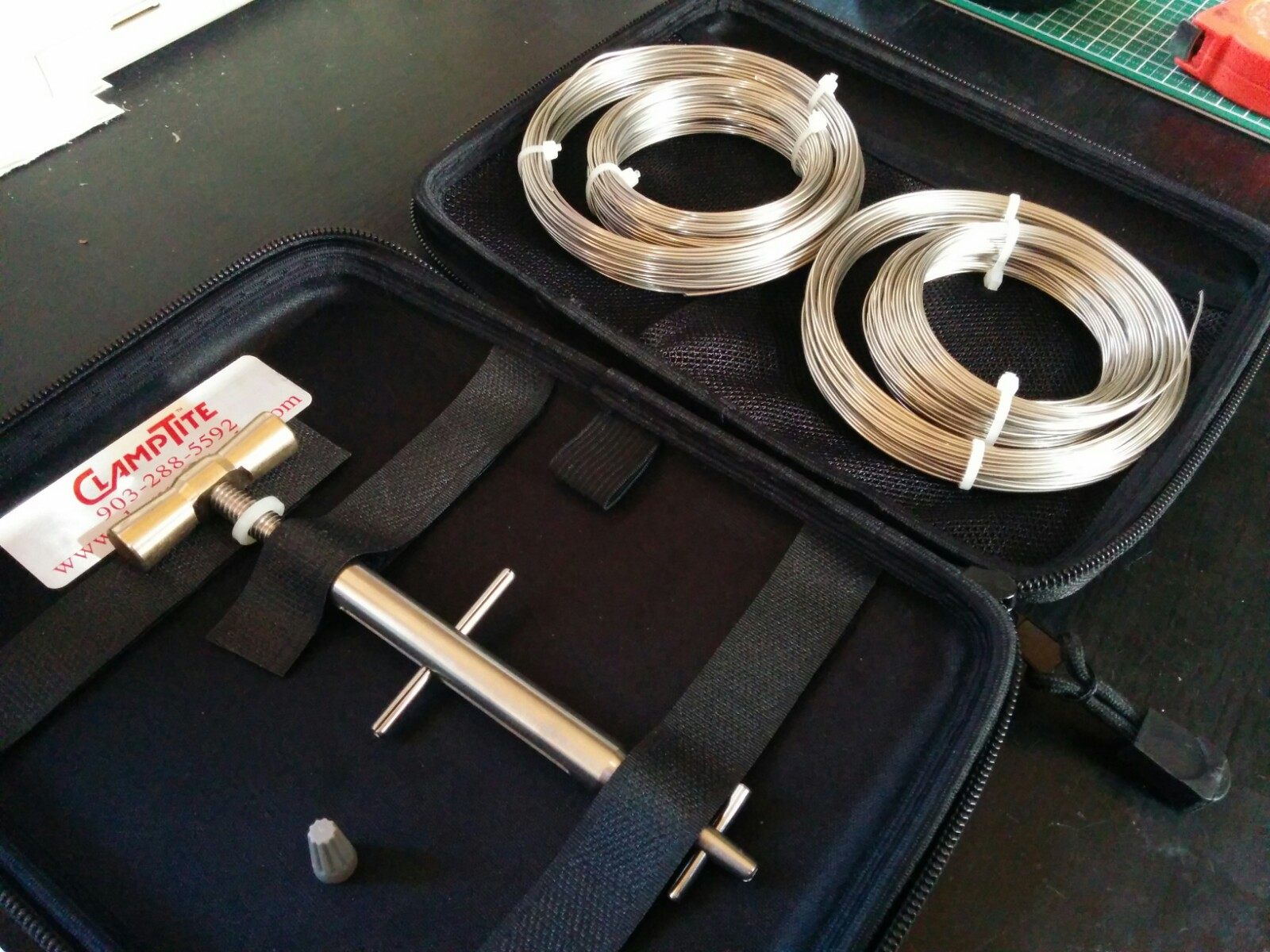 クランプタイト ワイヤーロック工具(プレミアム)フルキット