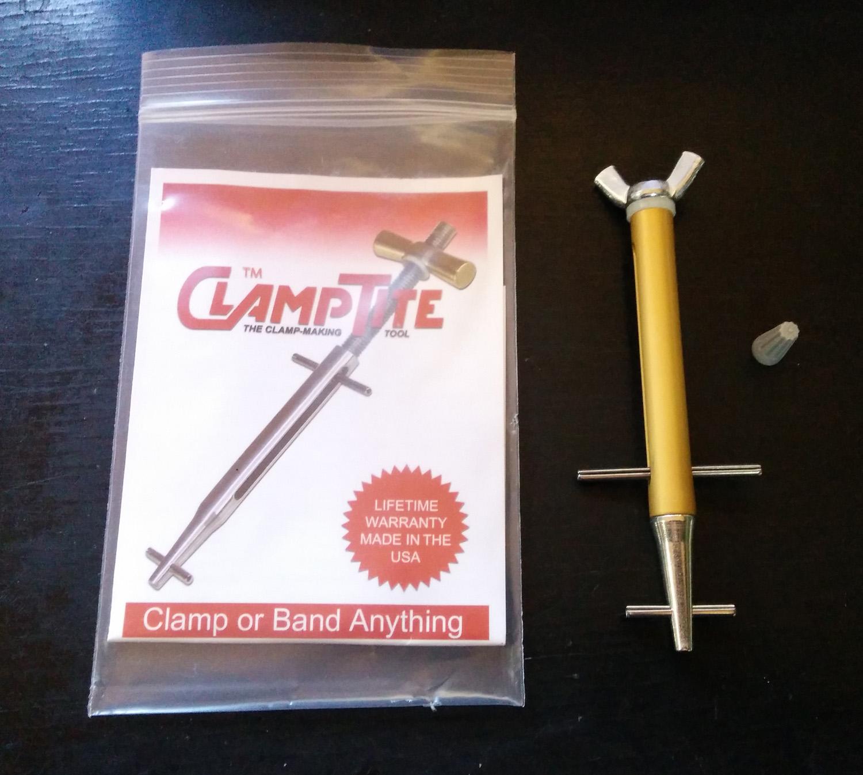クランプタイト ワイヤーロック工具(スタンダード:蝶ネジタイプ)