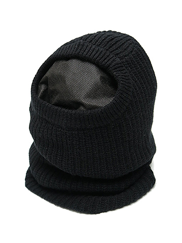 SALE/First Aid to the Injured・ファーストエイドトゥザインジュアード/ANTRUM KNIT BALACLAVA・Black.