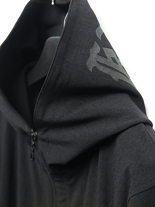 (予約品)8月入荷予定/kiryuyrik・キリュウキリュウ/High Tension Hoodie/BlackBlack