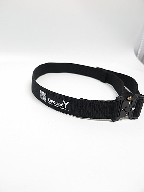 Ground Y・グラウンドワイ/Pe/GY Tactical belt/BLK