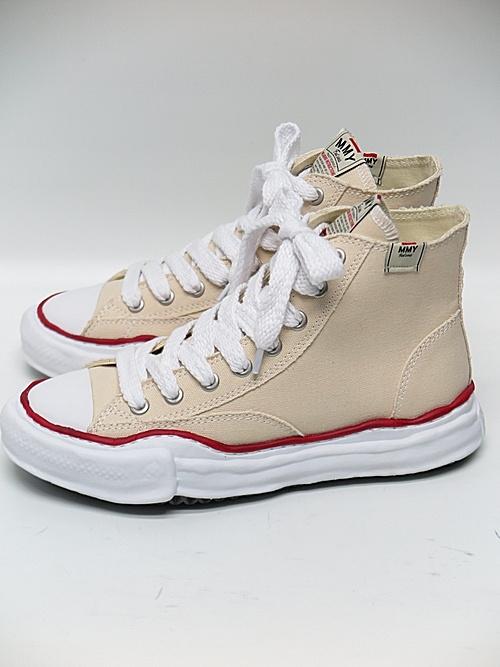 MIHARA YASUHIRO・ミハラヤスヒロ/ Original sole canvas hicut sneaker/NATURAL