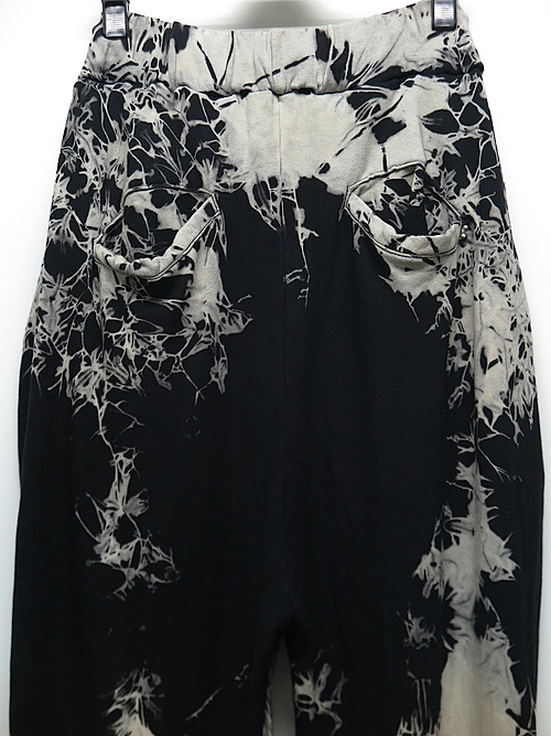 SALE40%OFF/KMRii・ケムリ/Bamboo Spandex Tie Dye Bamboo Jodhpurs/BLACK.