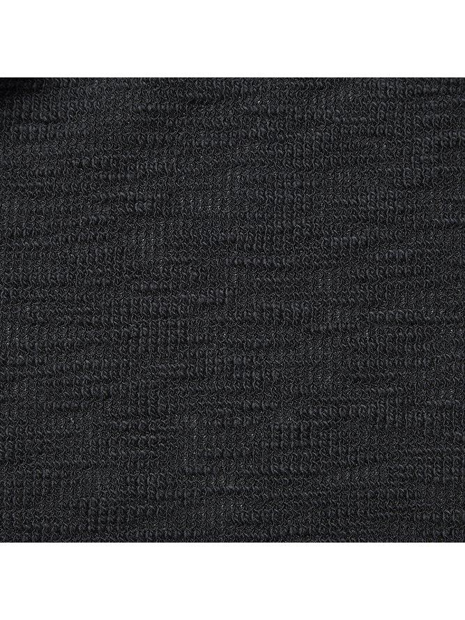 RIPVANWINKLE・リップヴァンウィンクル/スラブツイード LONG SLUB JERSEY/BLK.