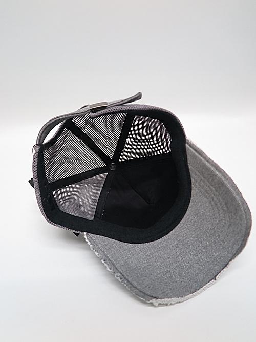 wjk・ダブルジェイケイ/jersey B.B.cap(emblem)/top gray