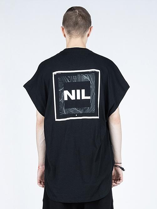 (予約品)2月入荷予定/NIL/S・ニルズ/COTTON JERSEY CUT & SEWN/BLACK