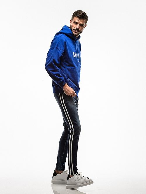 RESOUND CLOTHING・リサウンドクロージング/EX denim jersey  line PT/DIND.
