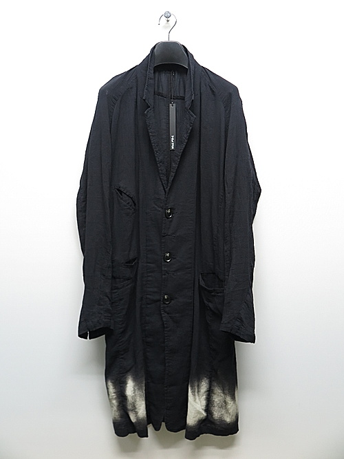 KMRii・ケムリ/Cotton Discharged Crepe Coat/ONE