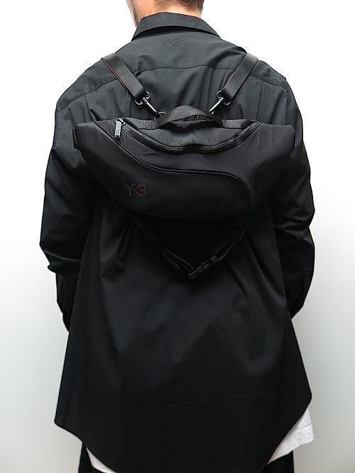 Y-3・ワイスリー/Y3-A20-0000-125/Y-3 CH2 MULTBAG/BLACK.