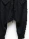 KMRii・ケムリ/Bamboo Cotton Spandex Bamboo Fleece SRL/BLACK
