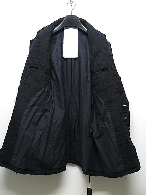 (予約品)7〜8月入荷予定/nude:masahiko maruyama ・ヌード:マサヒコマルヤマ/Patched Jacket/Black