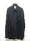 nude:masahiko maruyama ・ヌード:マサヒコマルヤマ/Washed Linen Lawn Oversized Shirt/BLK