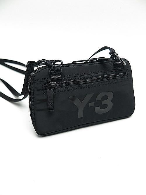 Y-3・ワイスリー/Y3-A20-0000-379/Y-3 CH2 POUCH/BLACK_NRED.