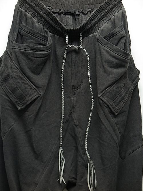 KMRii・ケムリ/Bamboo Cotton Spandex Bamboo Fleece SRL/D.CHARCOAL