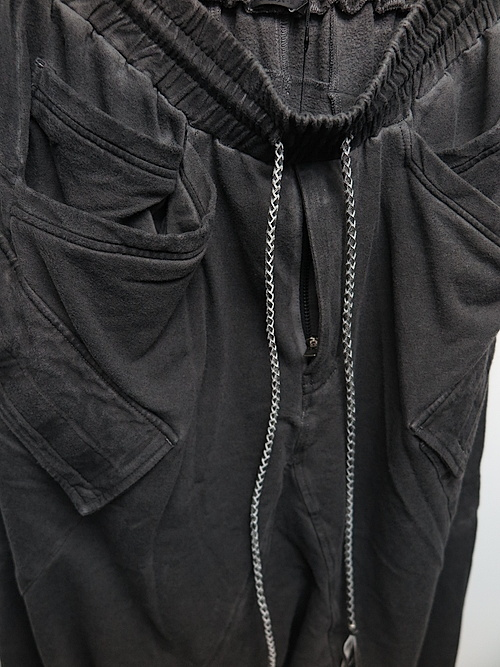 SALE40%OFF/KMRii・ケムリ/Bamboo Cotton Spandex Bamboo Fleece SRL/D.CHARCOAL