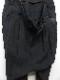 nude:masahiko maruyama ・ヌード:マサヒコマルヤマ/Washed Linen Lawn 2 Tucks Sarouel Pants/BLK