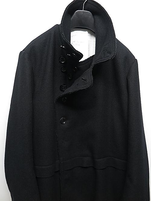 nude:masahiko maruyama ・ヌード:マサヒコマルヤマ/Oversized Long Coat/Black