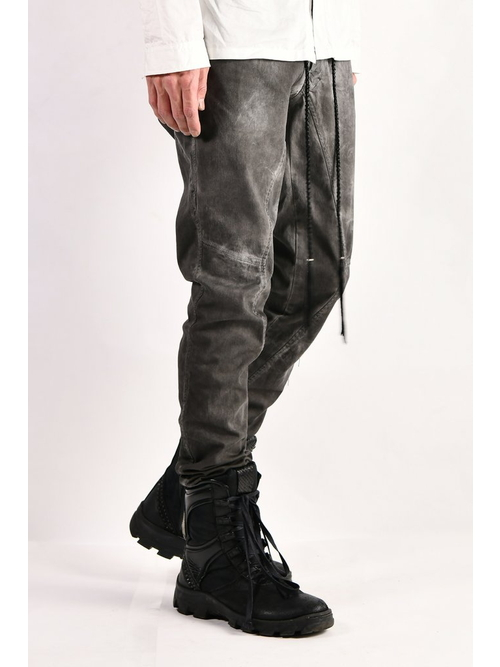 KMRii・ケムリ/Stretch Twill Pants 03/Charcoal