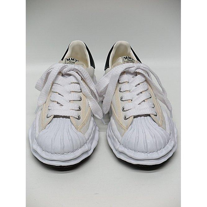 (予約品)11月入荷予定/MIHARA YASUHIRO・ミハラヤスヒロ/ BLAKEY low - original STC sole canvas low-cut sn/WHT