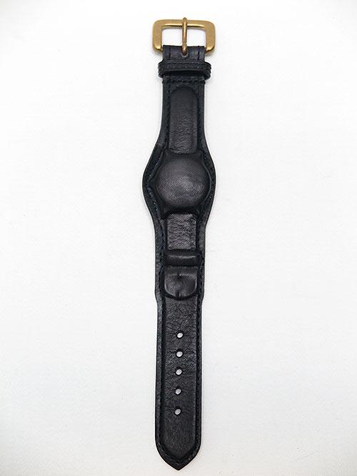 MIHARAYASUHIRO/COWleather invisible bracelet/BLK.