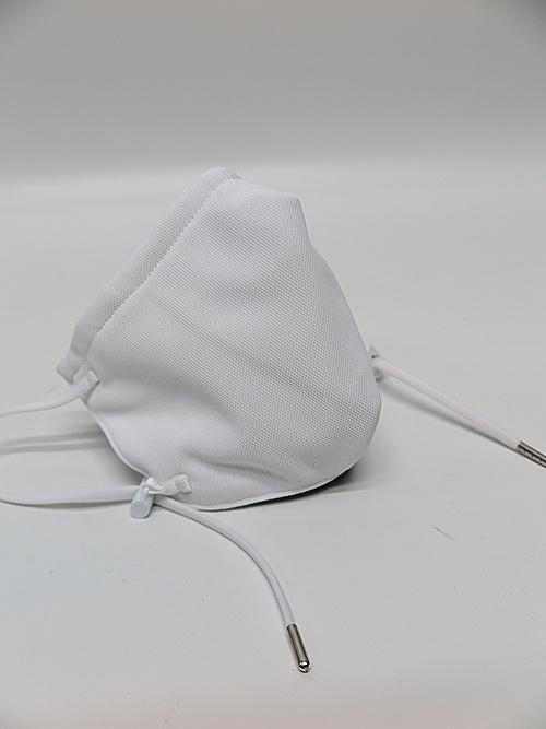 kiryuyrik・キリュウキリュウ/Heavy Mesh Cross SWR Face Cover/White